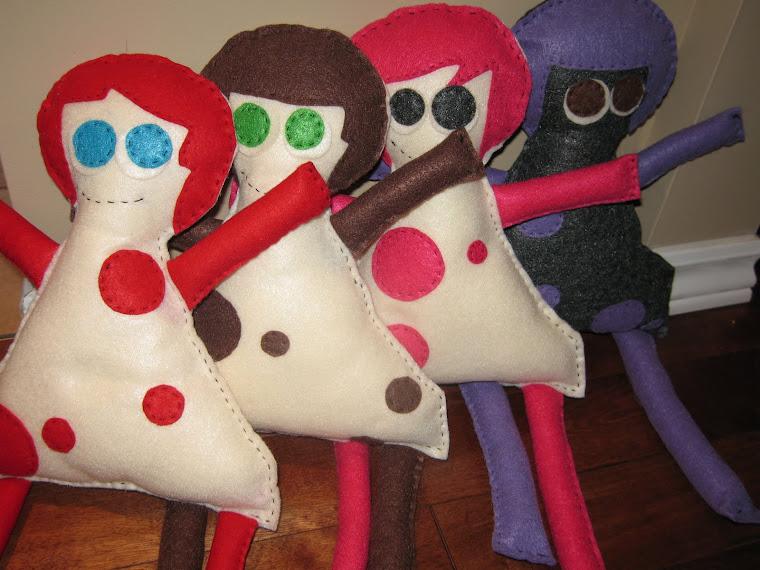 Polka Dot Dolls