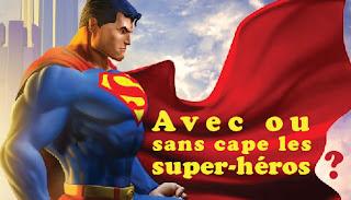 superman super-héros superhero cape
