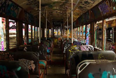 Interior of a Tram - Tram Sheds, Glebe