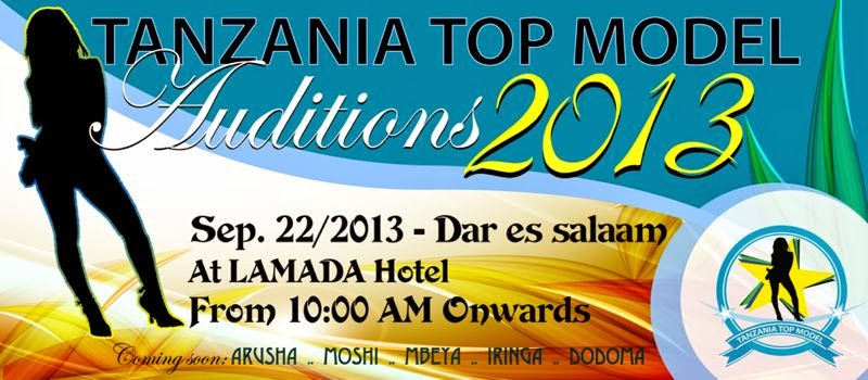 Tanzania top model audition