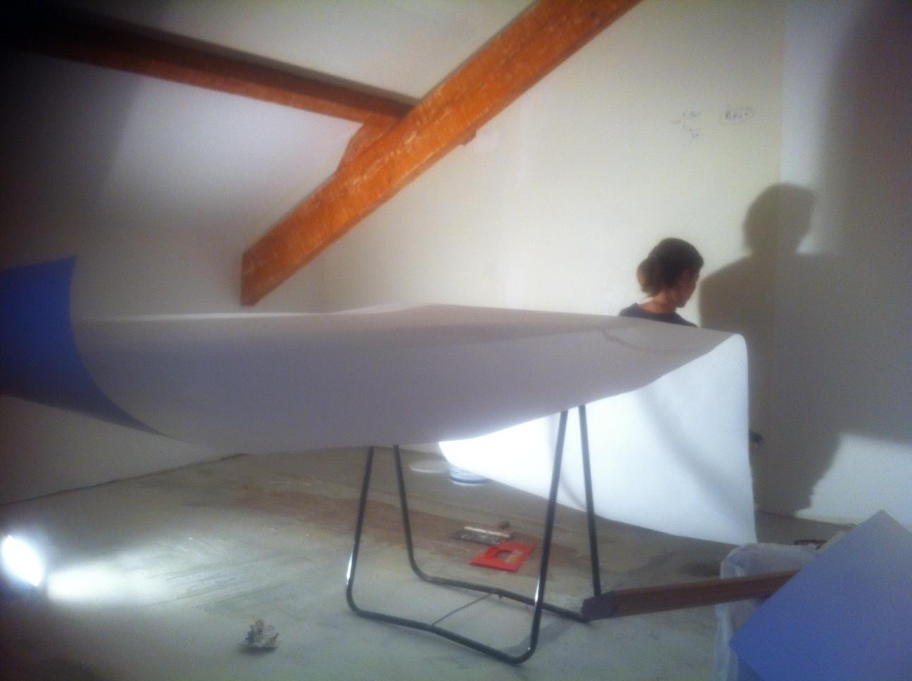 Poser du papier peint au plafond Fiche pratique - Poser Du Papier Peint Au Plafond