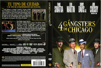 Carátula dvd: Cuatro gángsters de Chicago (1964) (Robin and the 7 Hoods)