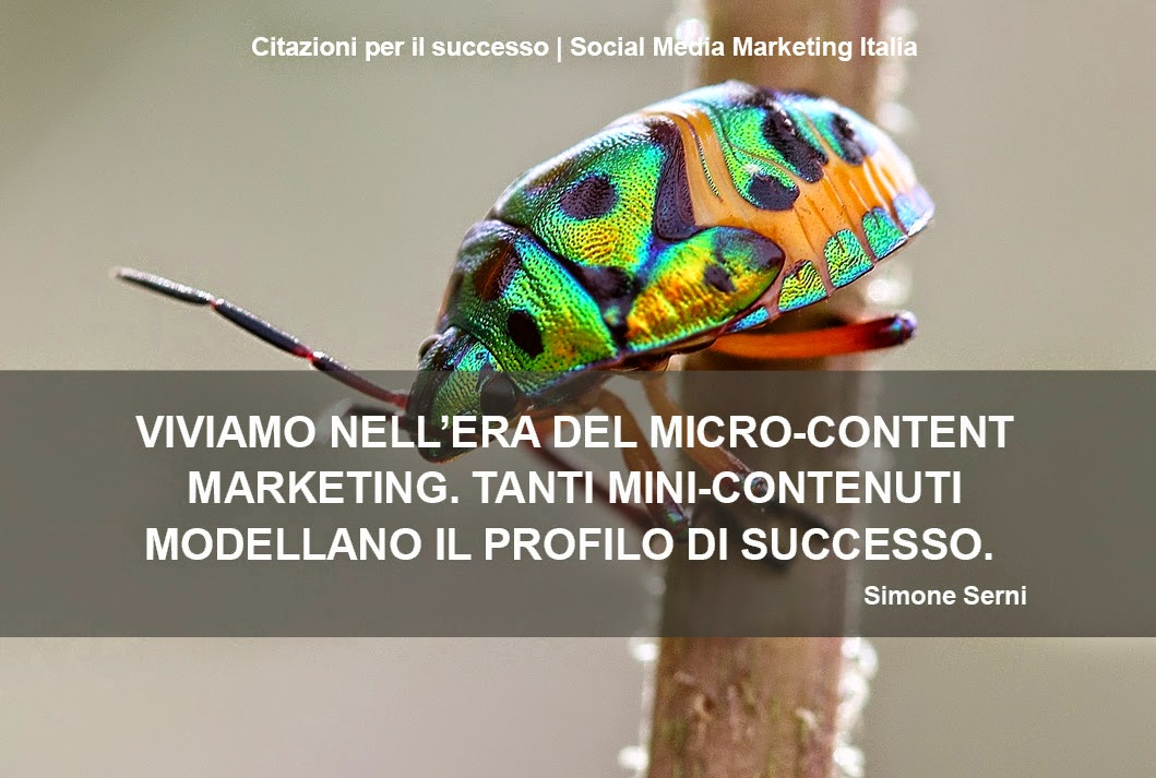 Era Micro-content marketing, il mondo pubblicità si sta evolvendo