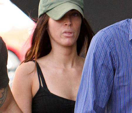 Megan  Makeup on Megan Fox Without Makeup Megan Fox Without Makeup Megan Fox