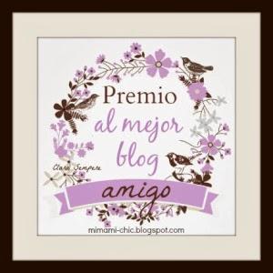 Premio: Blog amigo