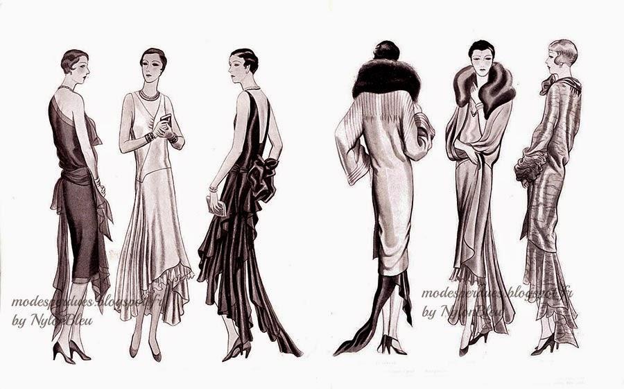 a la recherche des modes perdues et oubli es le jardin des modes 15 janvier 1929. Black Bedroom Furniture Sets. Home Design Ideas