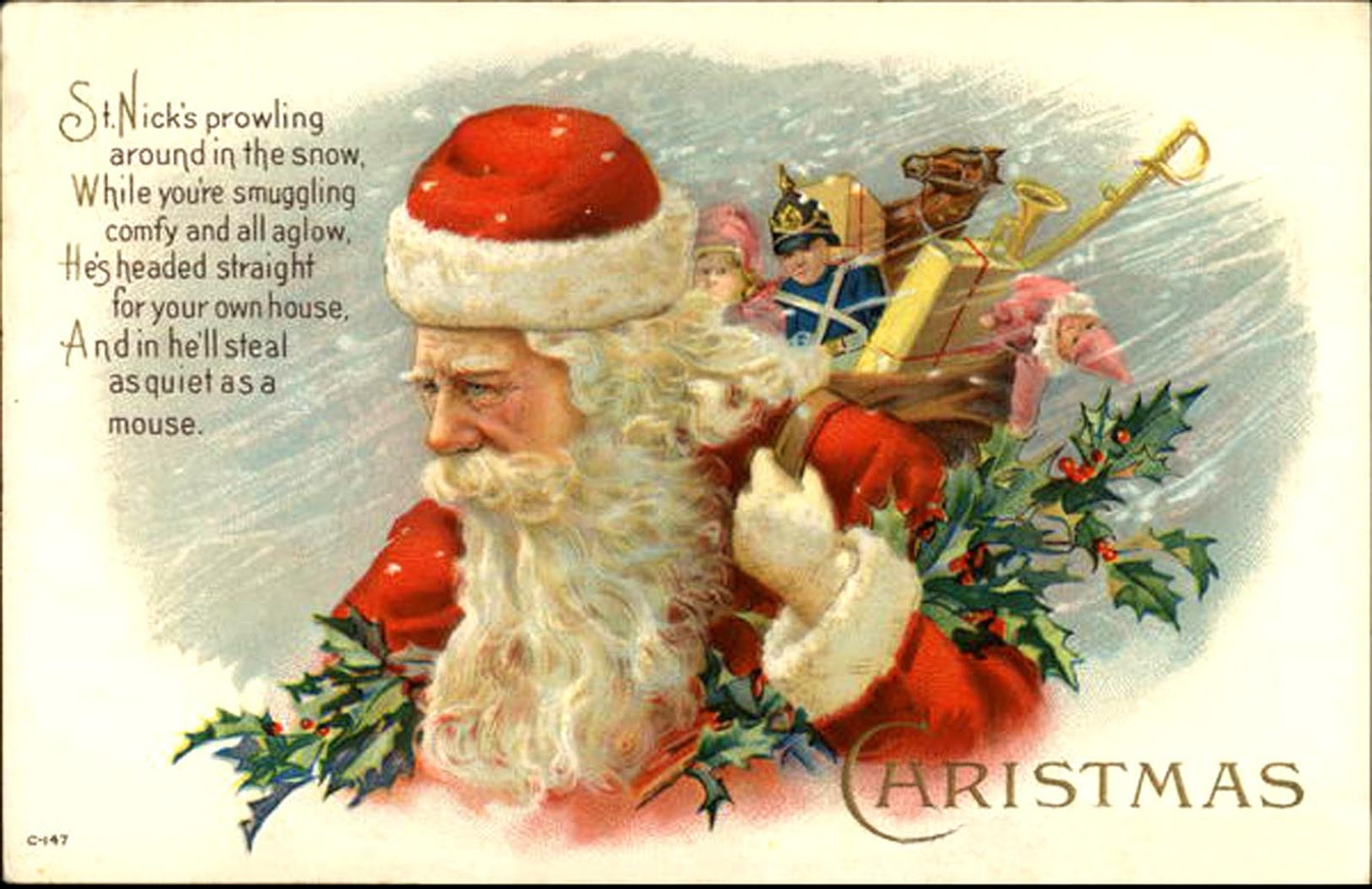The way of improvement leads home a history of christmas cards a history of christmas cards kristyandbryce Choice Image