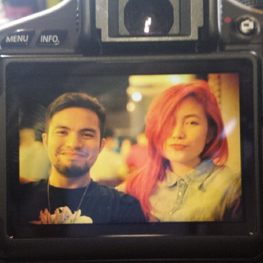 Yeng Constantino shares a photo of her and boyfriend Yan Asuncion on Instagram