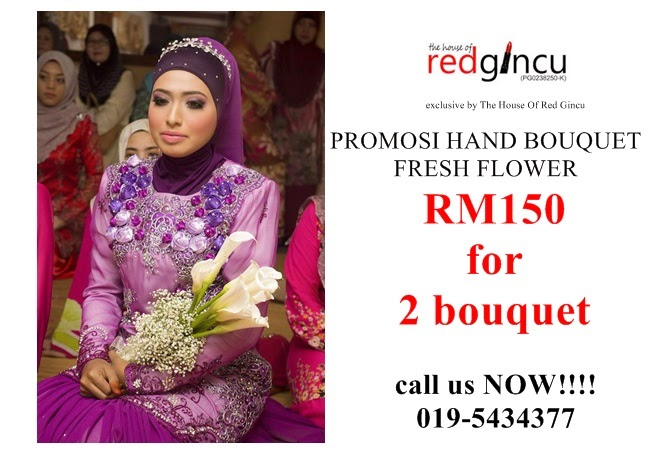 wedding boutique the house of red gincu promo 2014