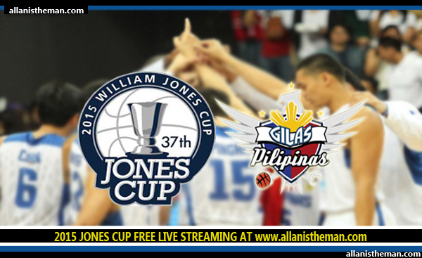 2015 William Jones Cup: Gilas Pilipinas FREE LIVE STREAMING