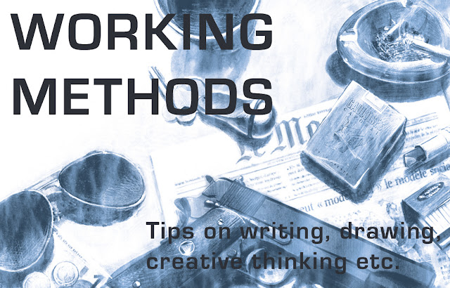 Working Methods: FREELANCE ILLUSTRATION ADVICE #1