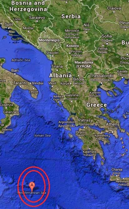 Magnitude 5.1 Earthquake of Makry Gialos, Greece 2014-10-04