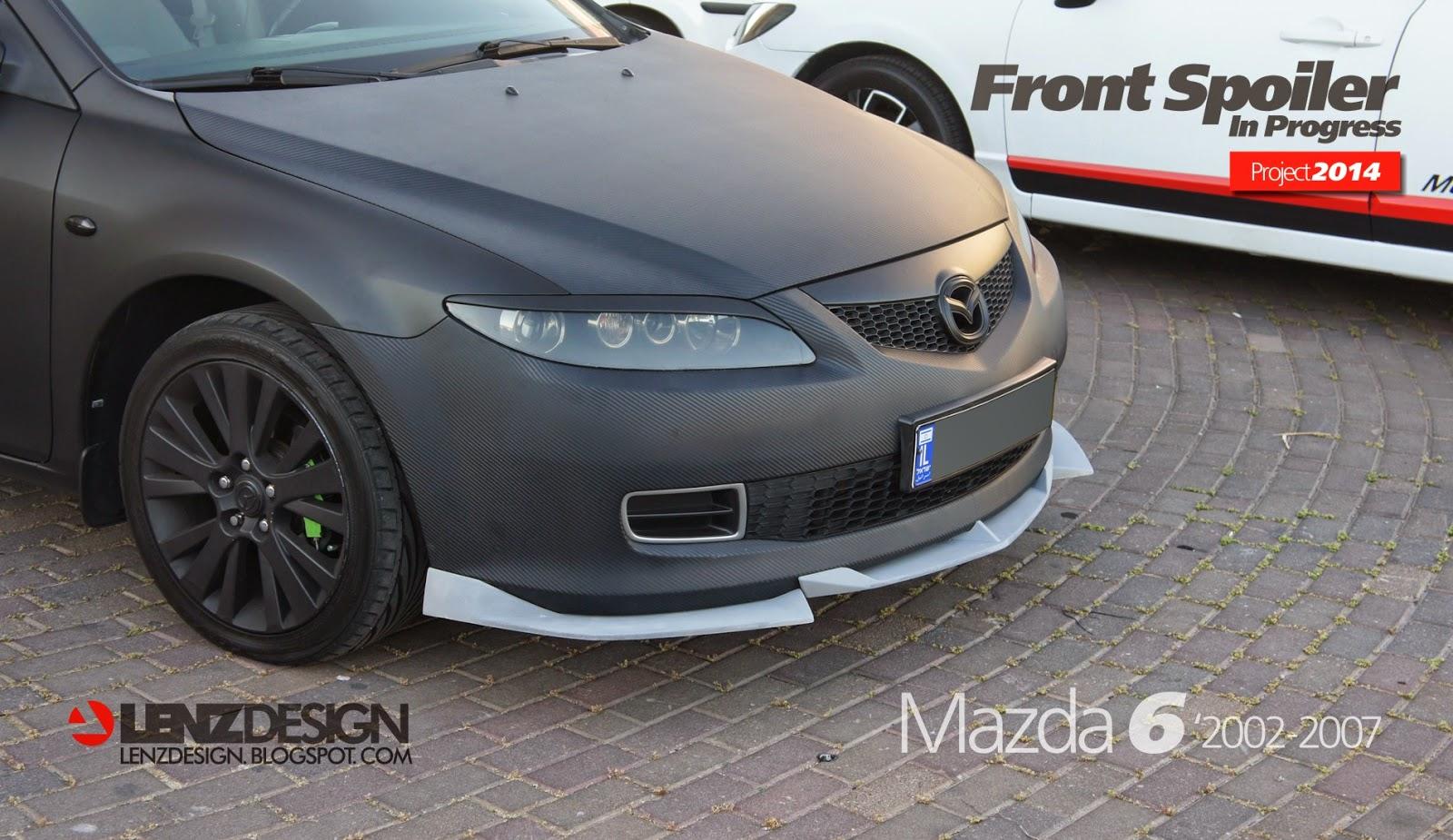 Mazda 6 2002 07 tuning body kit lenzdesign performance israel