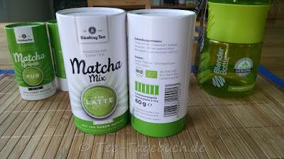 Bünting Matcha Mix for Latte