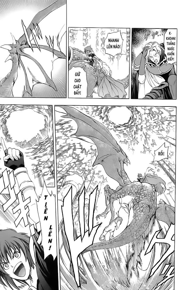 Fire Emblem-Hasha no Tsurugi chap 21 - Trang 27