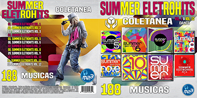 Coletânea Summer Eletrohits Vol.1 A 12 2016