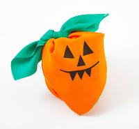 Lush Halloween Pumpkin Knot Wrap