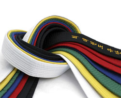 significado de los cinturones en taekwondo wtf