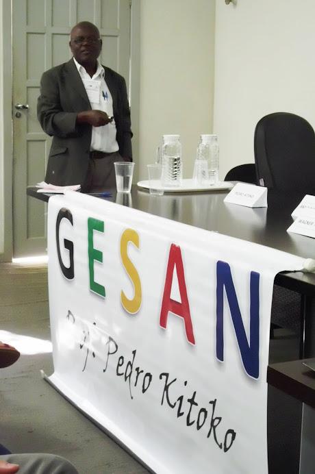 Prof. Pedro Kitoko: Aspectos Alimentares