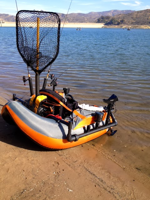 Fish finder and transducer mounting solutions february 2014 for Float tube fish finder