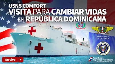 |EN VIVO MAÑANA SÁBADO 15, 9:00A.M.|: Una visita para cambiar vidas en la República Dominicana