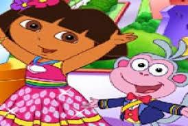 Dora Çilek Topluyor