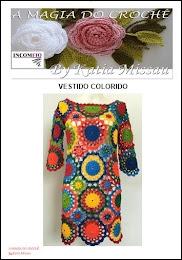 Receita Vestido Colorido