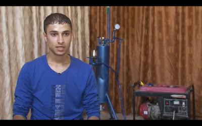 فلسطيني يخترع جهاز يولد الكهرباء بالهيدروجين