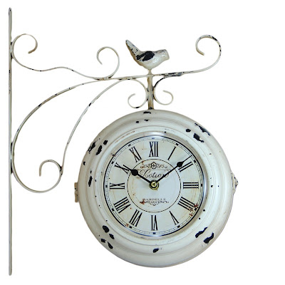 artigos de decoração, objetos de decoração, relógio de parede dupla face