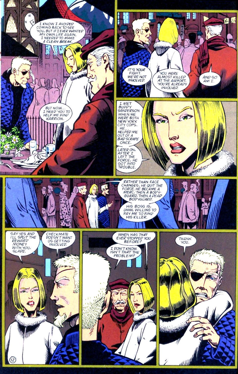 Deathstroke (1991) Issue #56 #61 - English 13