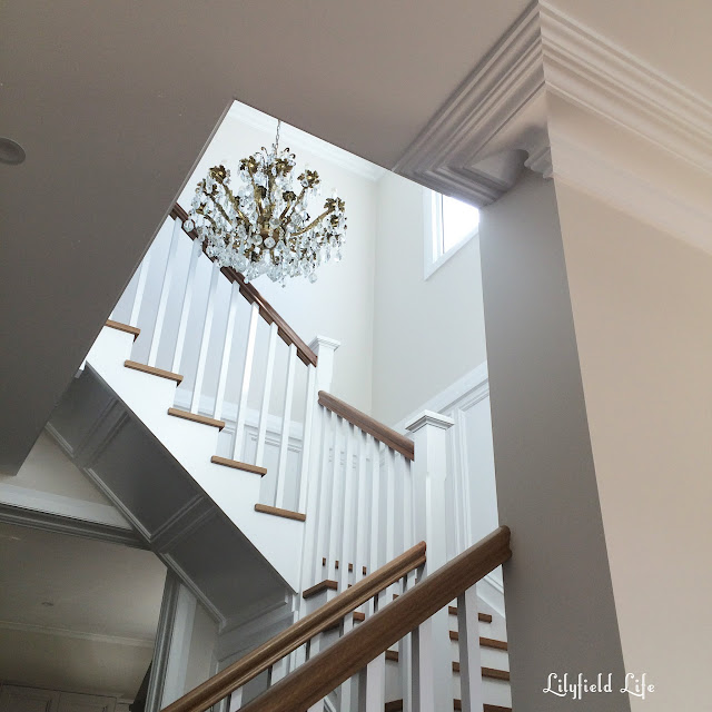 Lilyfield life formal stair case white and timber and panelling