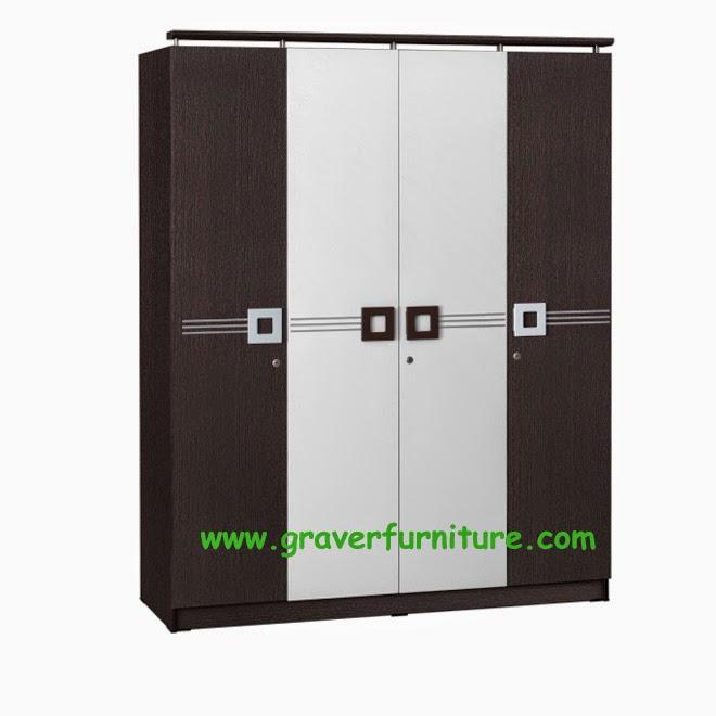 Lemari Pakaian 4 Pintu WD 299 Benefit Furniture