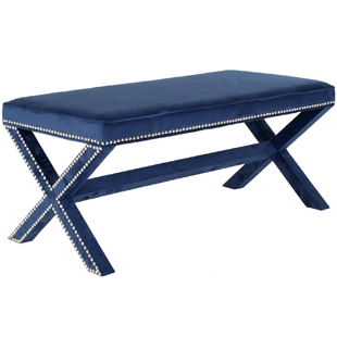 Zinc Door Melanie Navy Bench