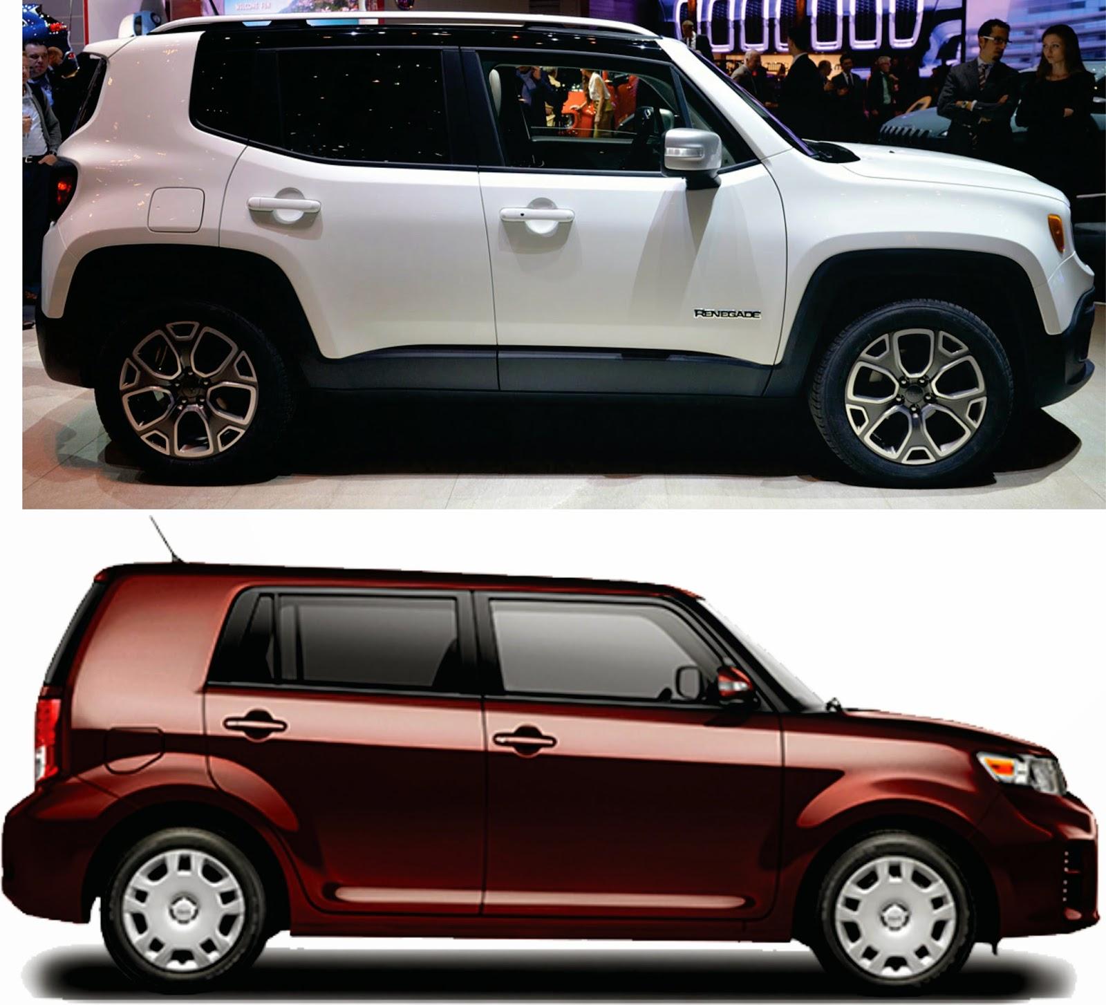 2015 Jeep Renegade Size Comparison Car Interior Design