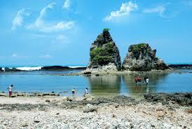 Pantai Sawarna di Lebak Banten Yang Memikat Para Wisatawan