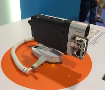 Sony Music Video Camera At NAMM 2014 image