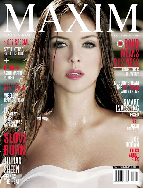 Actress @ Jillian Sheen - Maxim South Africa, November 2015