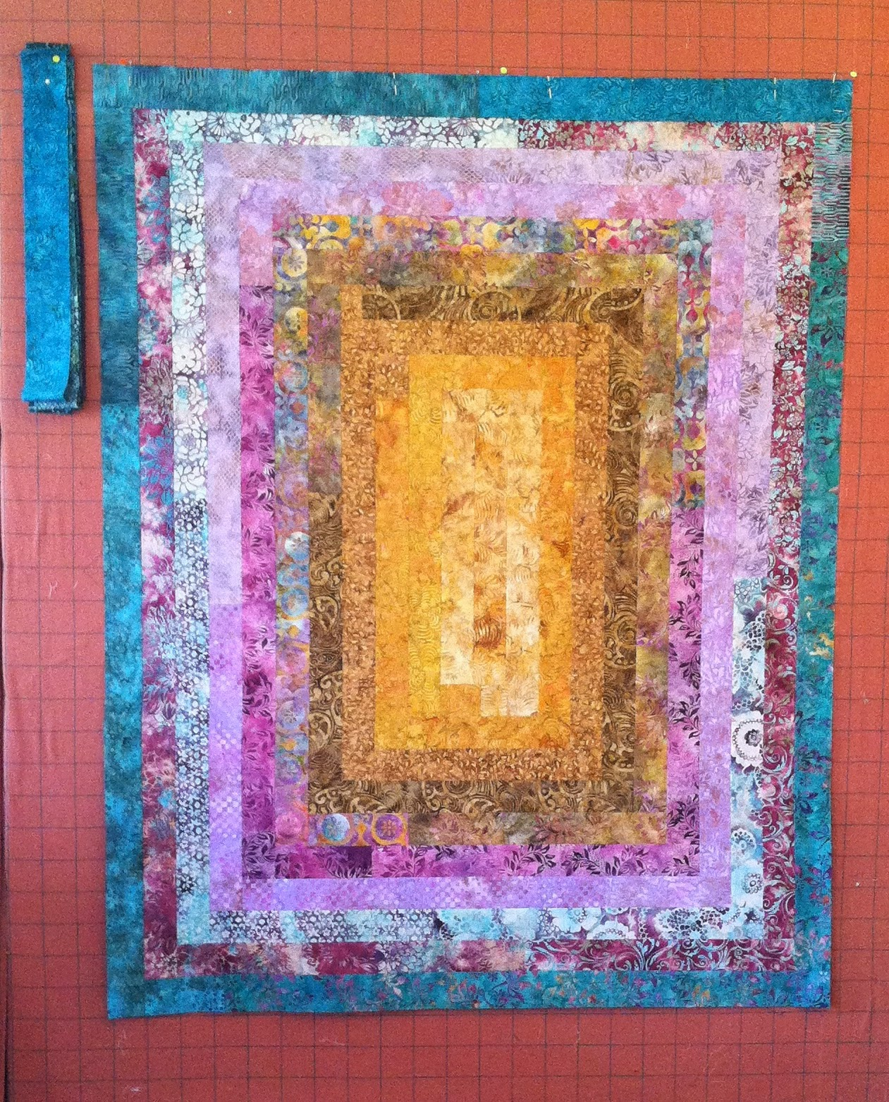 Jelly Roll Quilt - I love the colorwash effect these strips provide