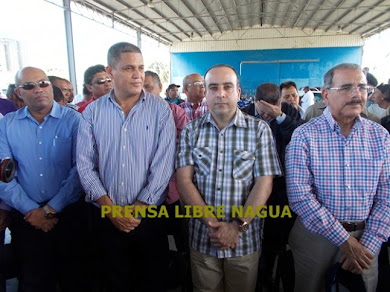 DANILO MEDINA EN NAGUA..DE SORPRESA, CLIC EN LA FOTO Y VEA MUCHAS MAS