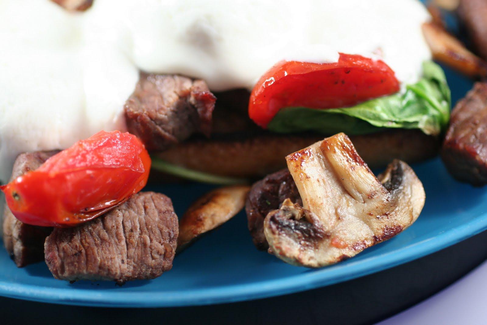 Crostini and Chianti: Grilled Steak Sandwich