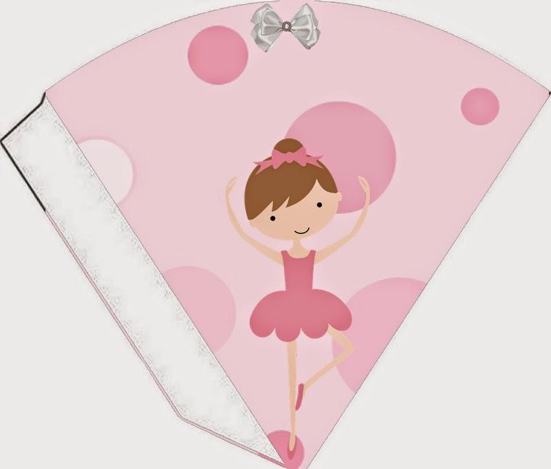 Ballet Free Printable Cones.