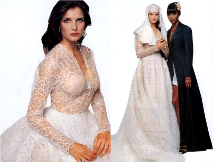 Azzedine Alaia Wedding Dresses when Alaia is left out of