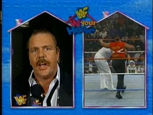 WWF / WWE - In Your House 3 - Triple Header -  Doc Hendrix interupted the Savio Vega/Waylon Mercy match