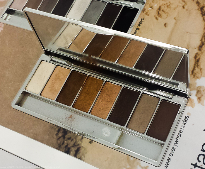 Clinique All About Shadow 8-Pan Neutral Eyeshadow Palettes - Wear Everywhere Nudes