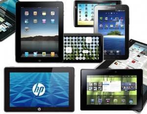 Os tablets estão fazendo sucesso no comércio