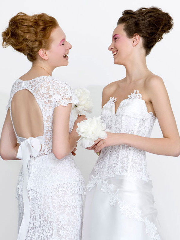 lace Wedding Dresses 2013 From Atelier Aimée