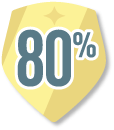 80% Feedback Review Award