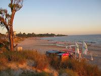 paisajes  playa Atlantida Uruguay