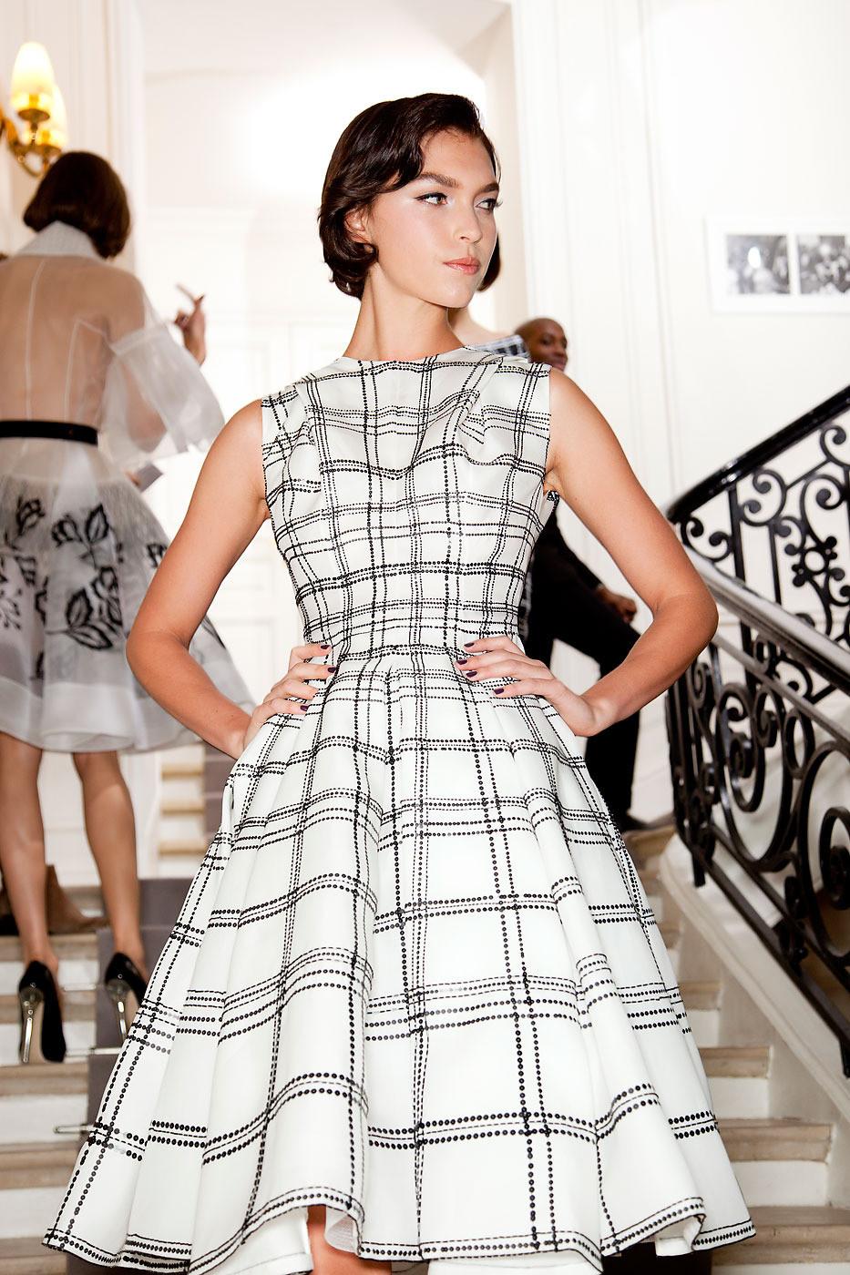 Arizona muse christian dior haute couture s s 2012 for American haute couture