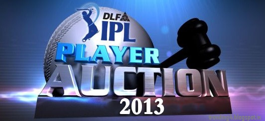 IPL AUCTION 2013 Players Who sold to Whom and Unsold Indian Premier League Latest News Photos